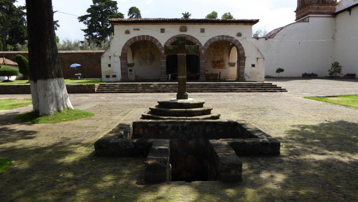 Former convent of Santa Ana and The Open Chapel Tzintzuntzan