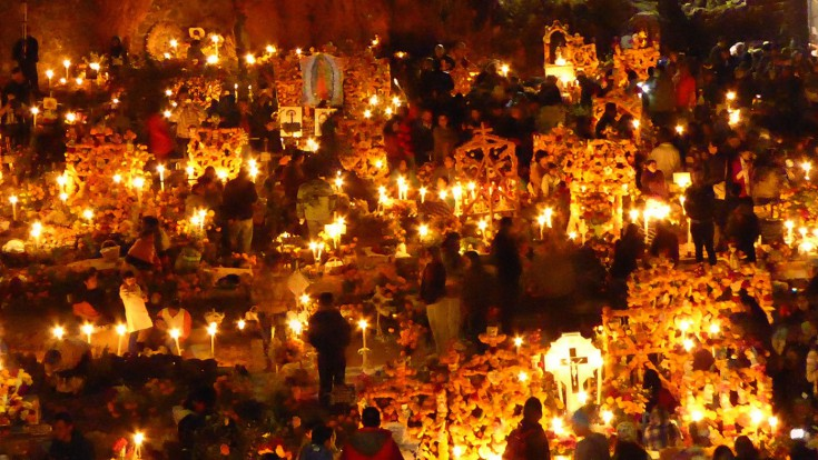 Night of the Dead on the shores of Lake Pátzcuaro