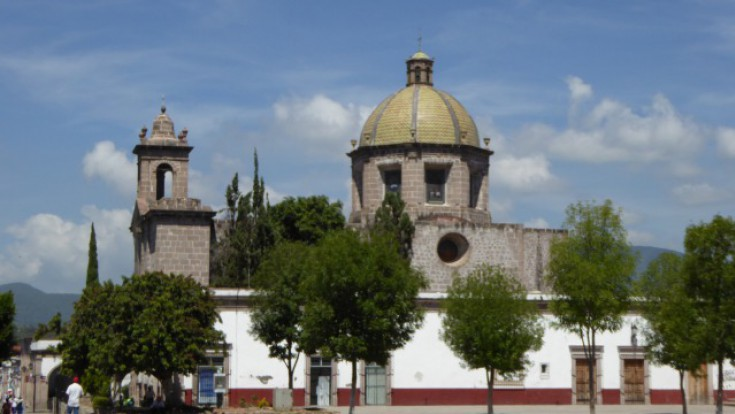 Sanctuary of Our Lady of Guadalupe in Cuitzeo