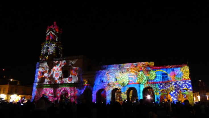 El templo como pantalla: video mapping