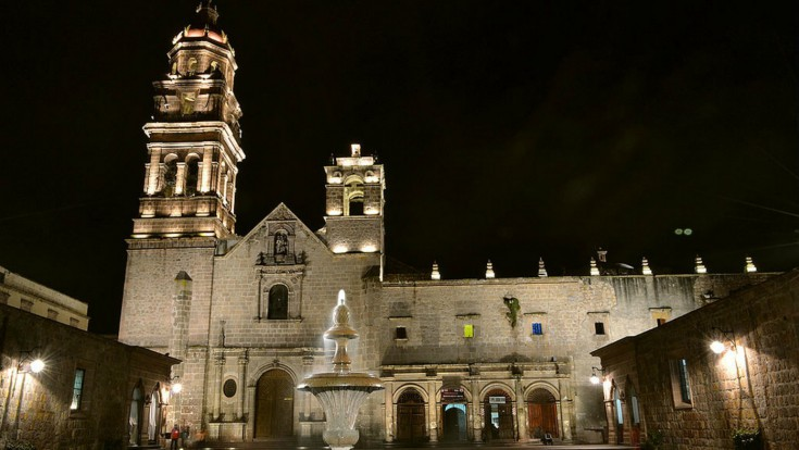 Temple and Convent of San Agustín in Morelia