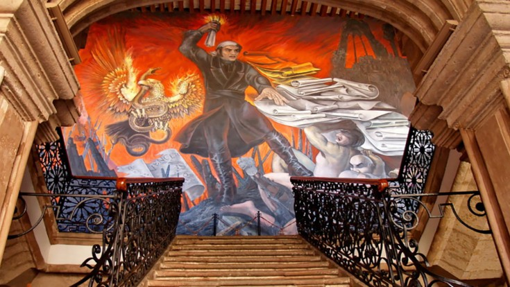 Expert on murals from Michoacan!