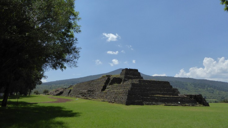 Las Yácatas Archaeological Site in Tzintzuntzan